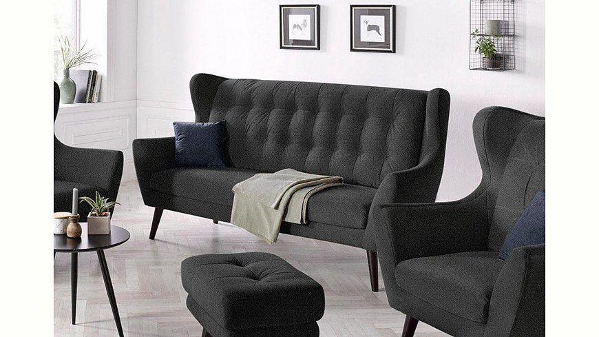 andas 3-Sitzer Ohrensofa »Hemmink« mit Knopfheftung Jetzt bestellen - hülsta möbel wohnzimmer