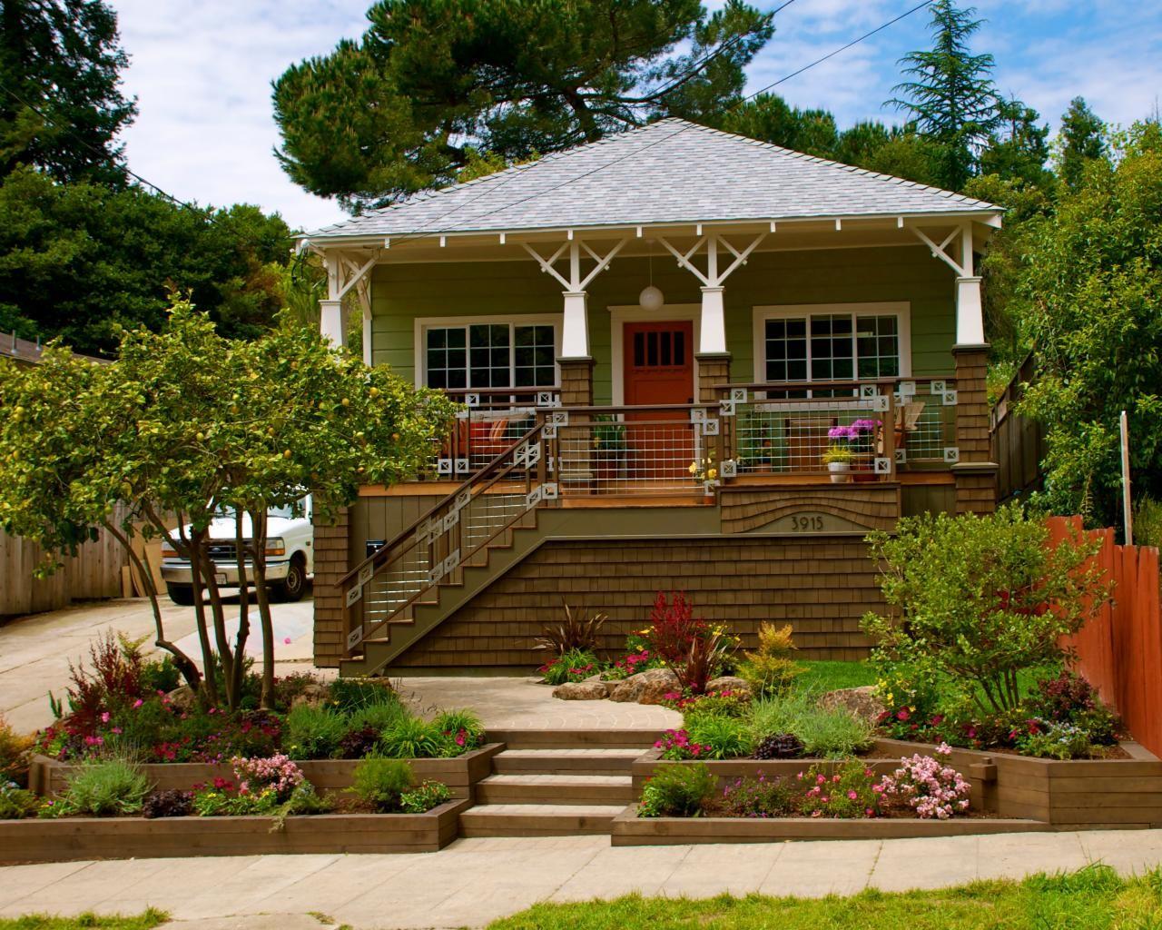 16 Inspiring Curb Appeal Transformations   Garden ideas ...