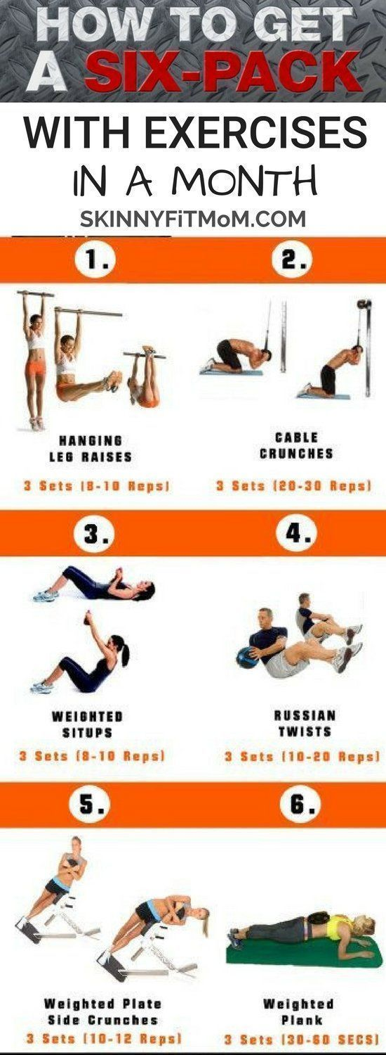 These workout plan is great for women. It will get you six