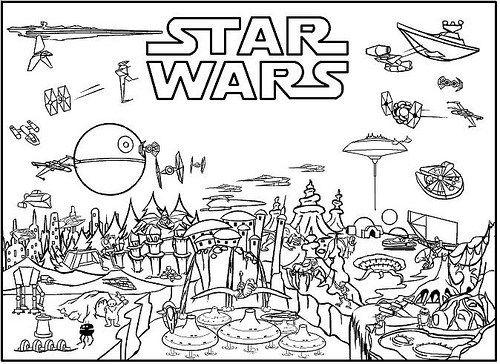 Dibujos de Star Wars para Colorear e Imprimir | Ideas: pintura ...