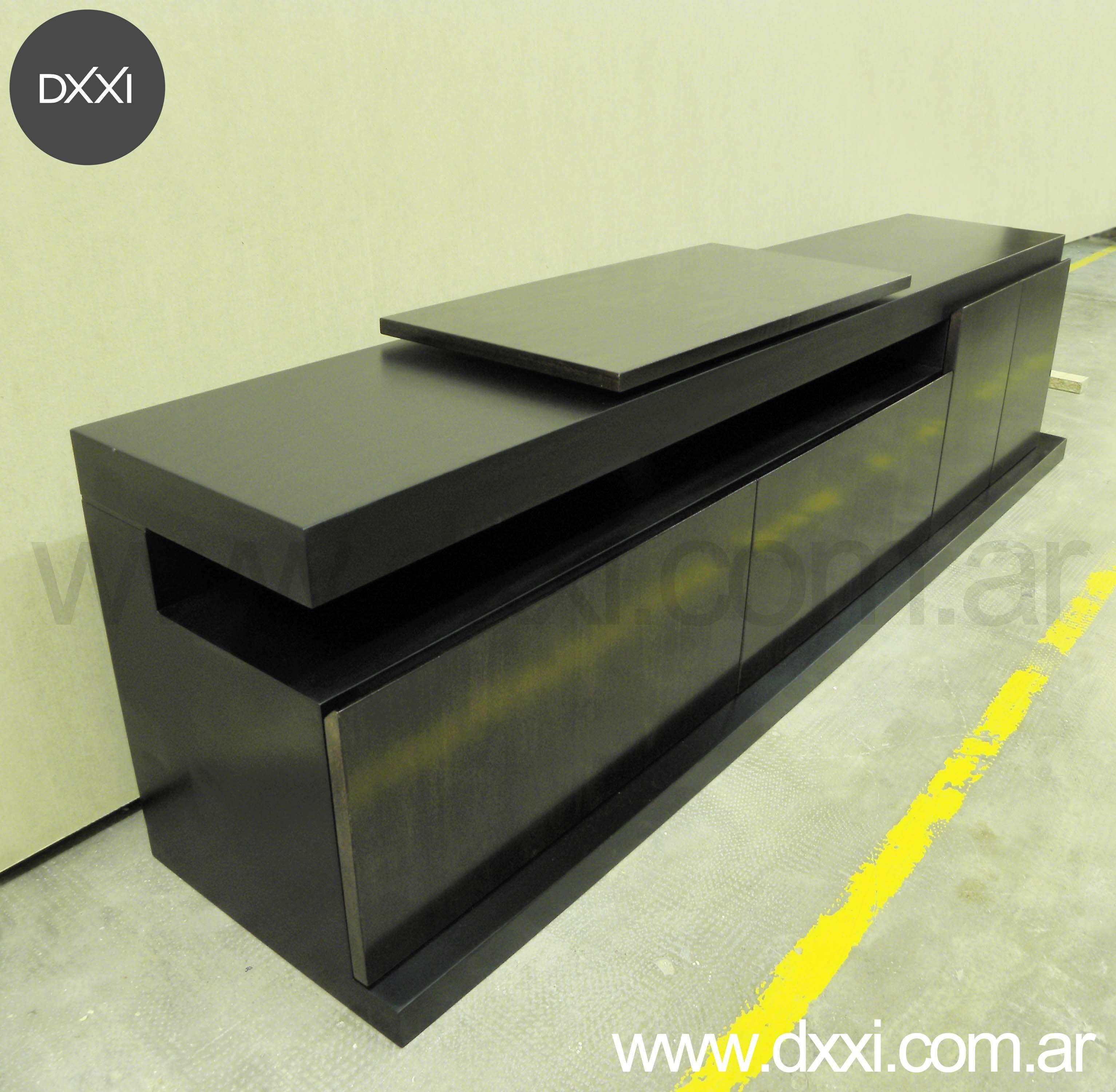 Mueble para TV modelo Florida con plato giratorio – 220x40x55. 2 ...