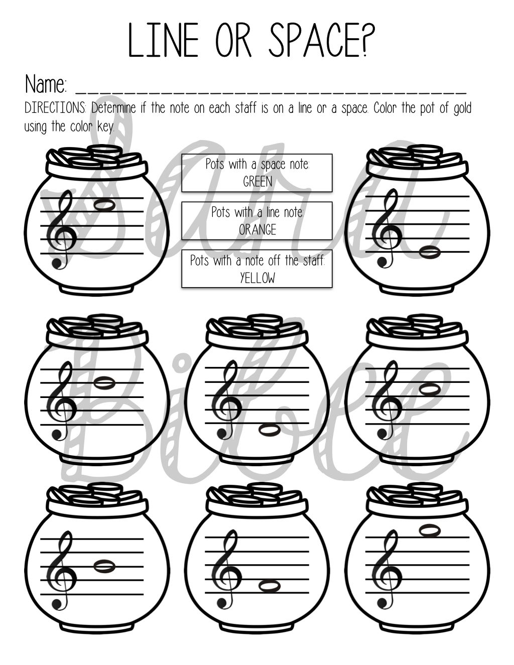 35 St. Patrick's Day Activities and Worksheets for Music Class ...