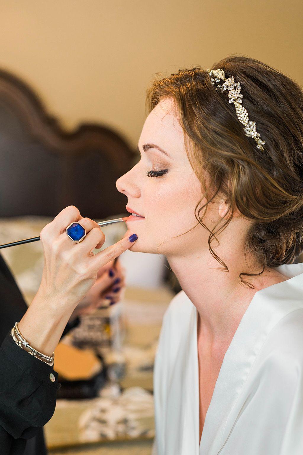bridal make-up, bride getting ready, bridal details, bridal