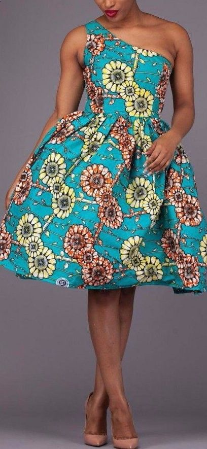 45 Fashionable African Dresses