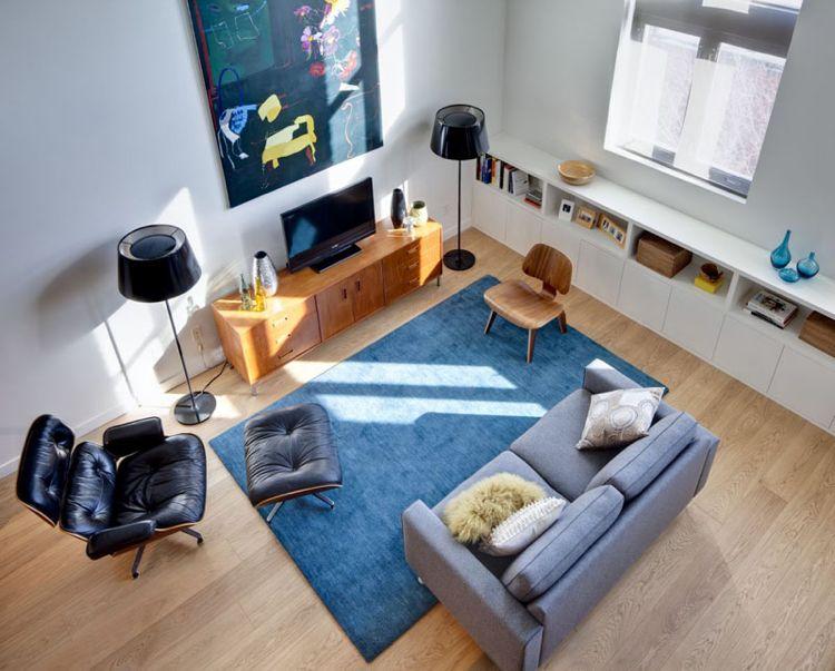 Wohnideen für Wohnzimmer mit Möbeln im Mid-Century Stil - möbel wohnzimmer modern