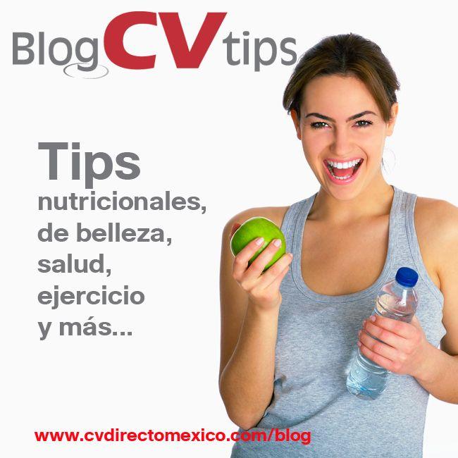 Artículos con tips para una buena salud y alimentación
