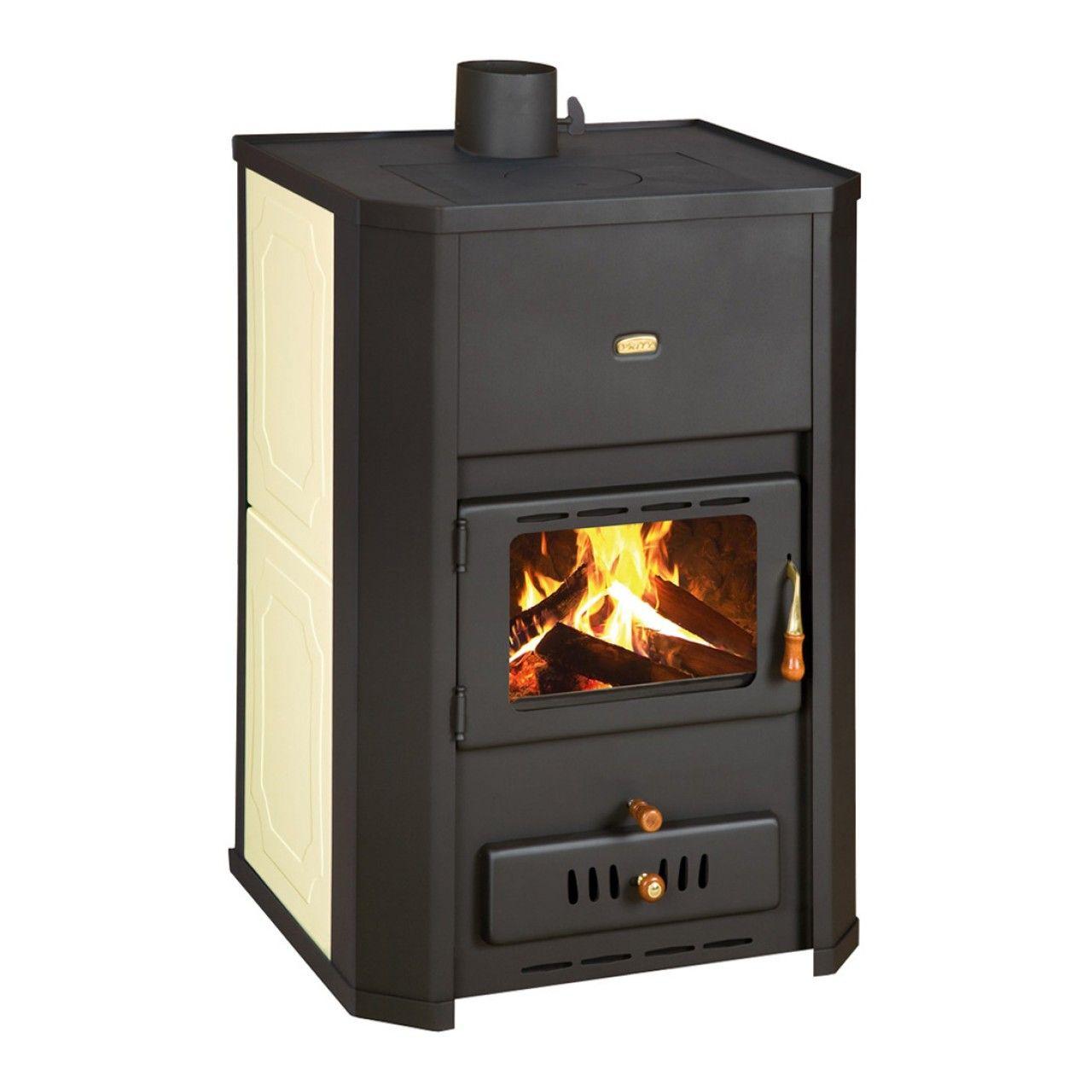 Semineu Pe Lemne Brichete Carbune Prity Wd W24 24 Kw Boiler Incorporat Boiler Wood Home Appliances