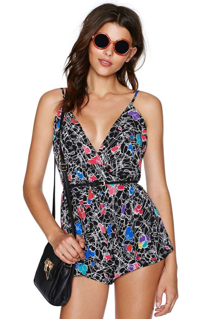 Nasty Gal Maze Out Romper