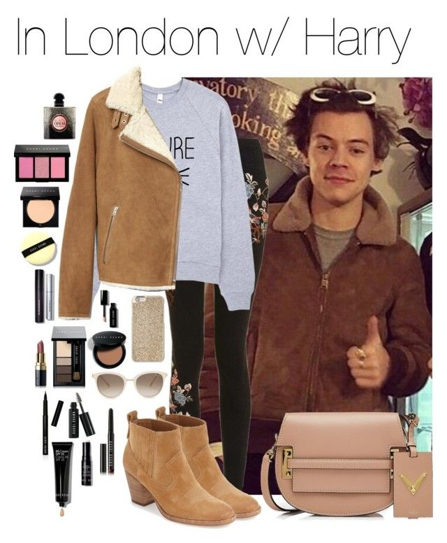 """""""londres.set"""" by hsmklau ❤ liked on Polyvore featuring Topshop, Dolce Vita, Gap, Michael Kors, Chopard, Bobbi Brown Cosmetics, Yves Saint Laurent and Valentino"""
