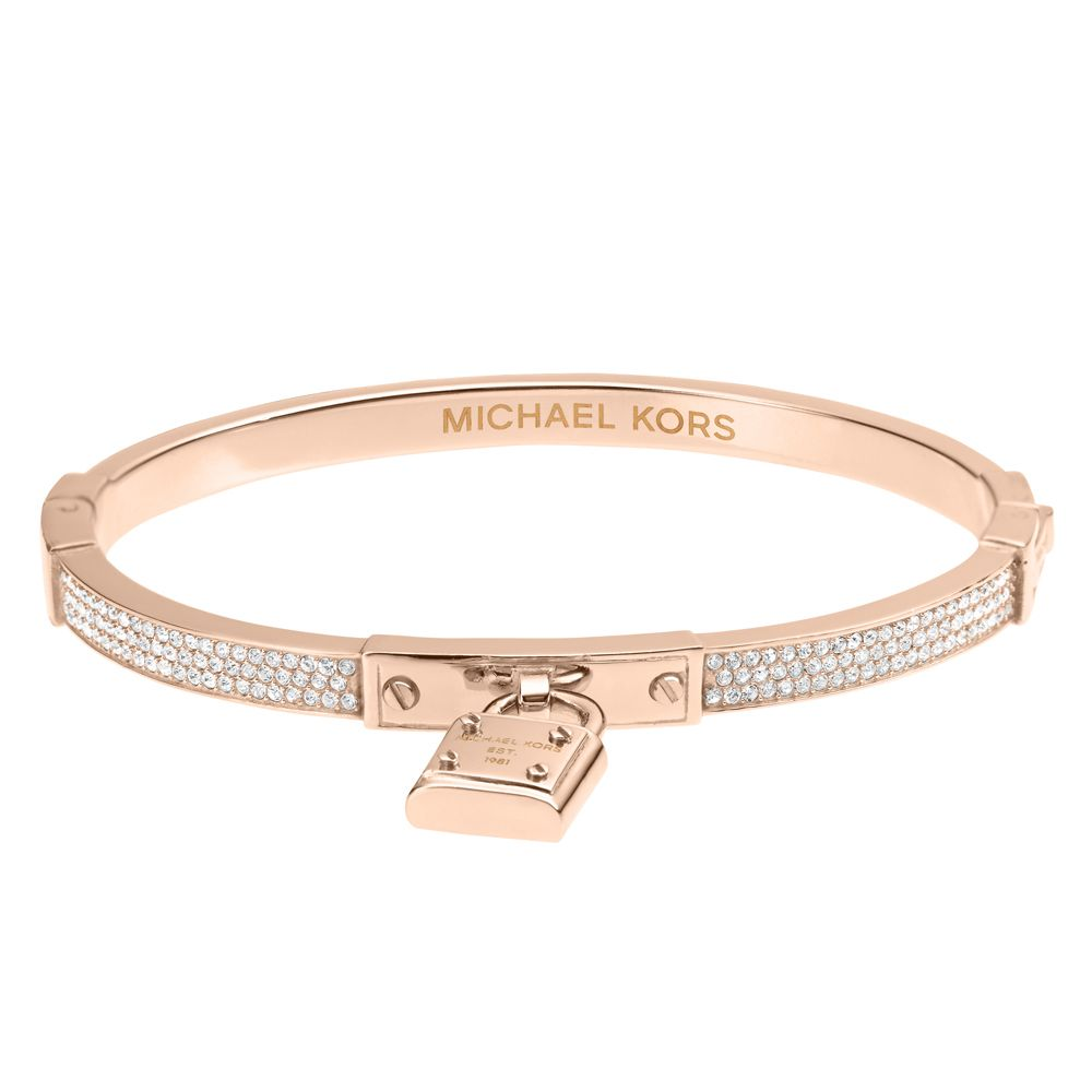 15d5ab563eacc Buy michael kors rose gold logo bracelet   OFF64% Discounted