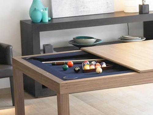 Space Saving Furniture Design Ideas For Small Rooms Billiard Tables Transformers Biliardi Arredamento Fai Da Te Idee Per La Casa