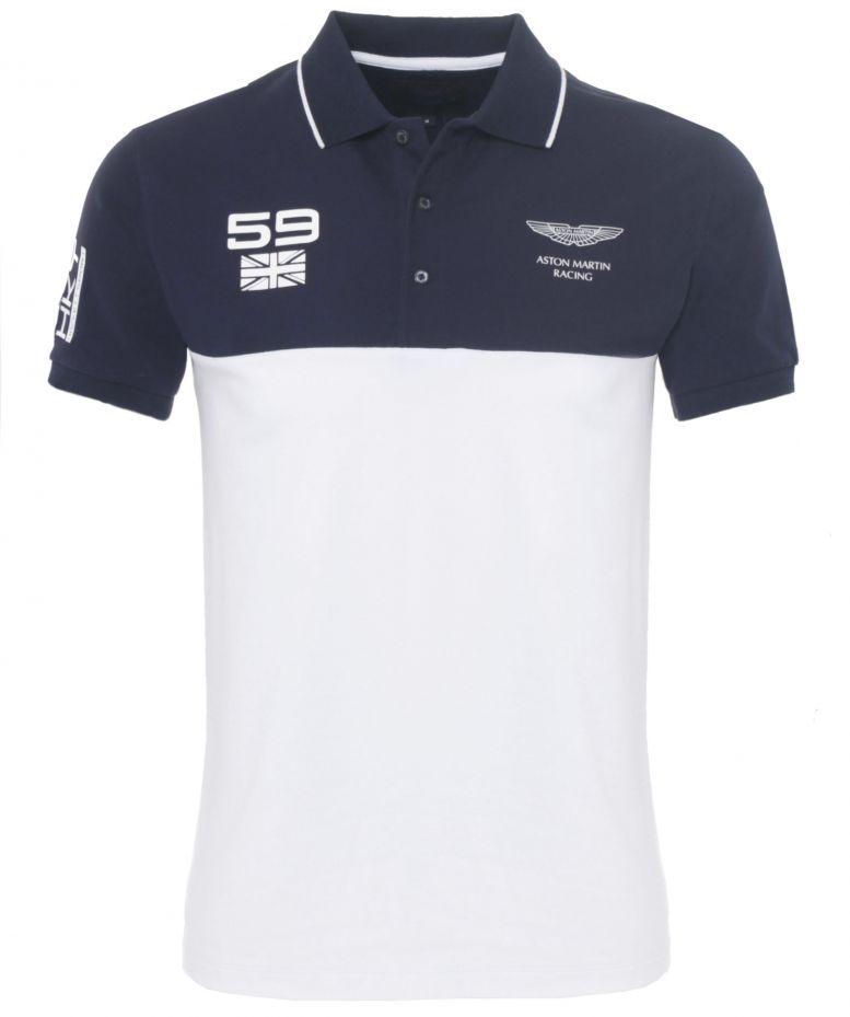 778859c1404 Hackett Aston Martin Racing Panel Polo Shirt | Polo | Polo, Polo ...