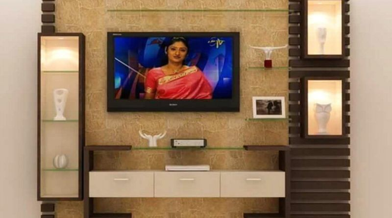 Morden Lcd Panel Design In 2020 With Images Modern Tv Wall