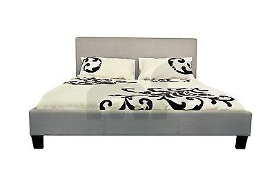Modern Comfortable Trendy Queen size Fabric Bed Frame in Multiple Colour Mondeo