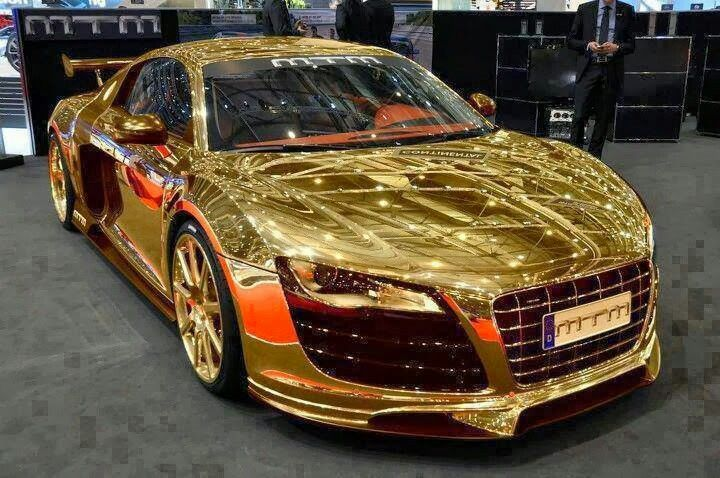 Solid Gold Dubai Cars Sports Cars Luxury Super Cars