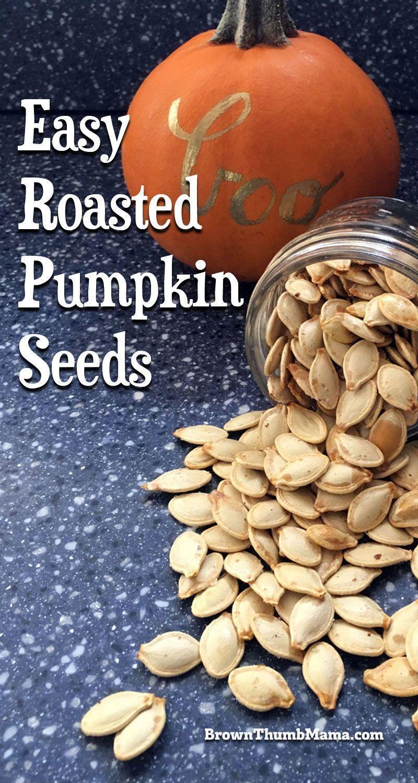 Easy Roasted Pumpkin Seeds #roastedpumpkinseeds Whether you grow pumpkins in you...#easy #grow #pumpkin #pumpkins #roasted #roastedpumpkinseeds #seeds #pumpkinseedsrecipebaked