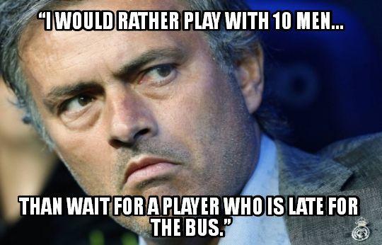Jose Mourinho S Managerial Philosophy Classic Jose Mourinho Philosophy Memes