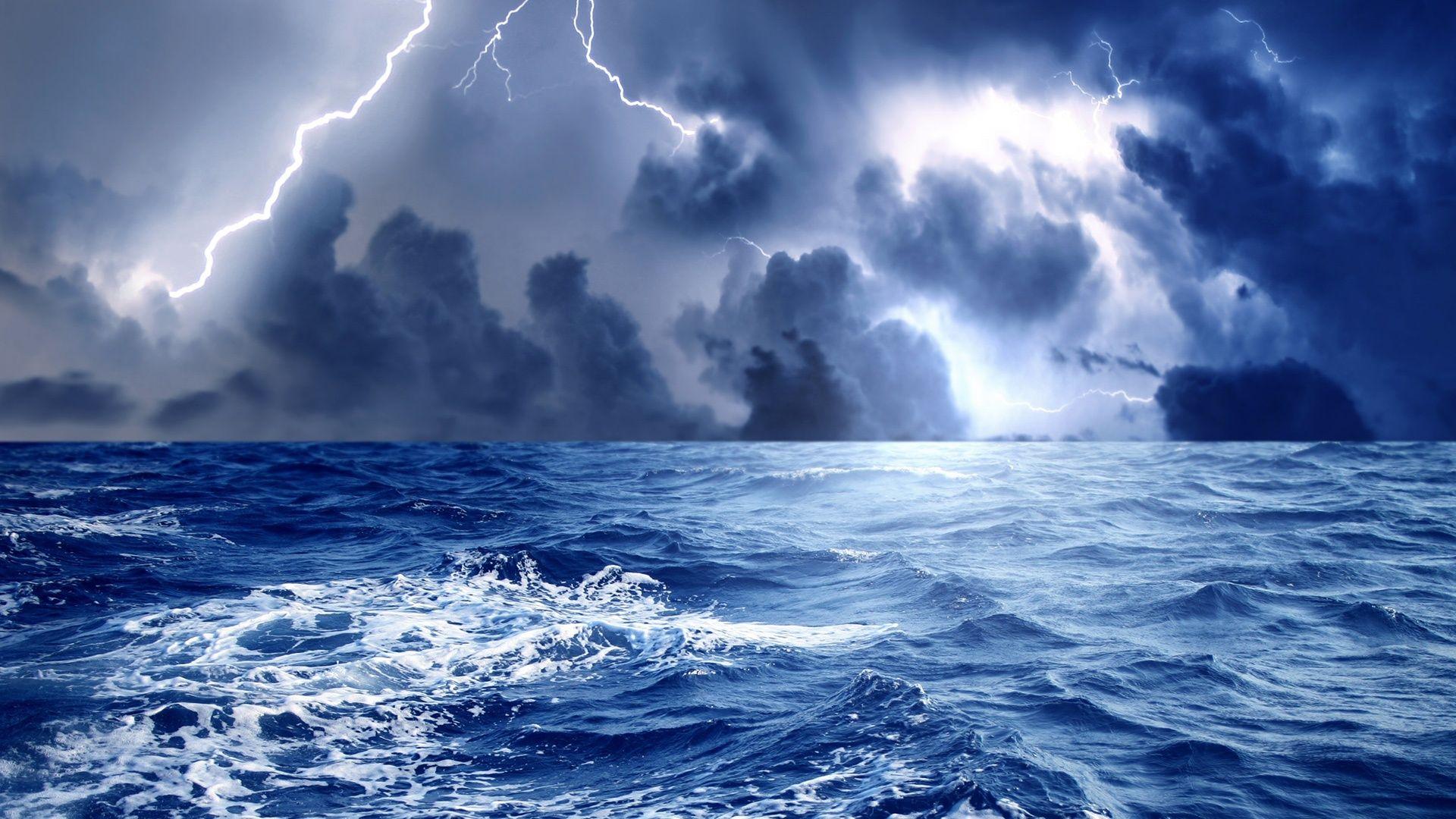 Hd Exciting Storm At Sea Wallpaper Download Free 52026 Sea Storm Storm Wallpaper Ocean Images