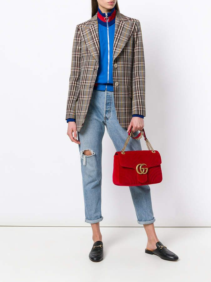 9d21072a07ae Gucci Gg marmont velvet shoulder bag | Products | Gucci, Gg marmont ...