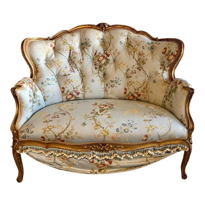 Antique French Victorian Settee Products In 2019