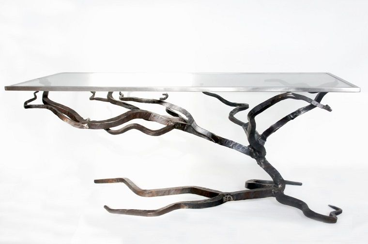 tavolo ferro battuto-idea-design | Metal | Pinterest | Metals