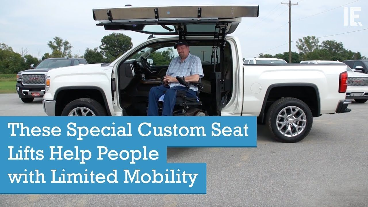 These Special Custom Seat Lifts Help People With Limited Mobility