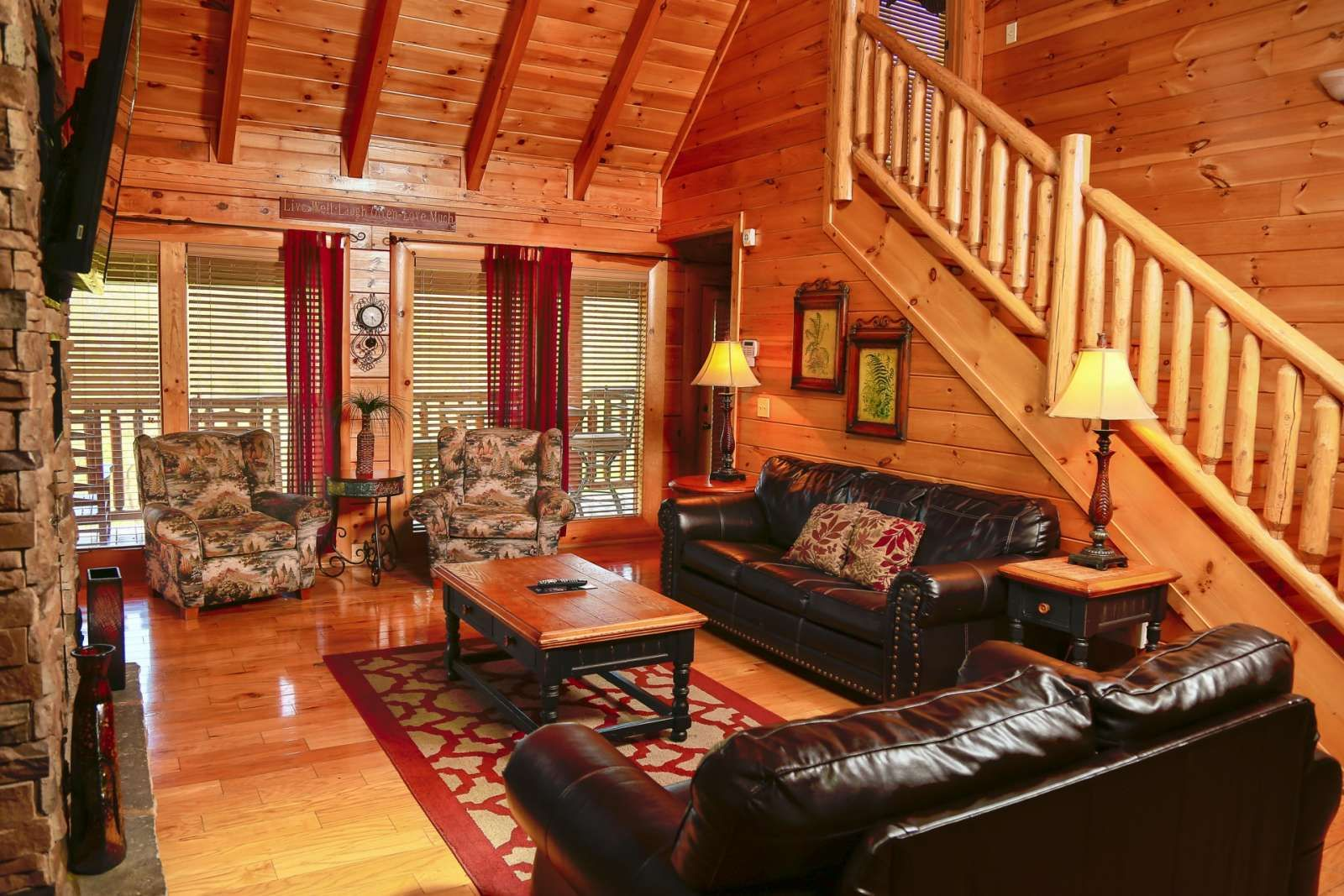 Sevierville Vacation Rental Southern Sky Indoor Outdoor Pool Fireplace Game Room 2 Hot Tubs Great Location Indoor Outdoor Pool Cabin Rentals Game Room