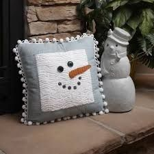 Image result for snowman pillow patterns