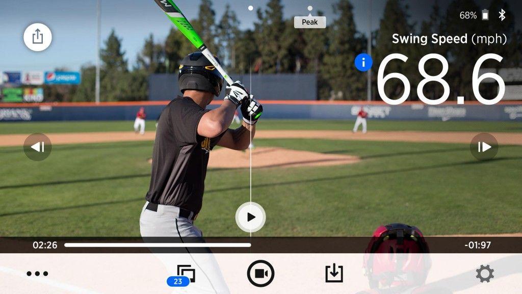 Blast Motion Baseball Swing Speed