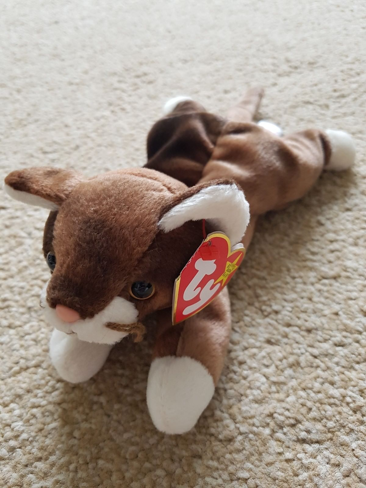 281526c4ab6 3 Ty Beanie Babies Cats Kittens Frisco Pounce Tangles