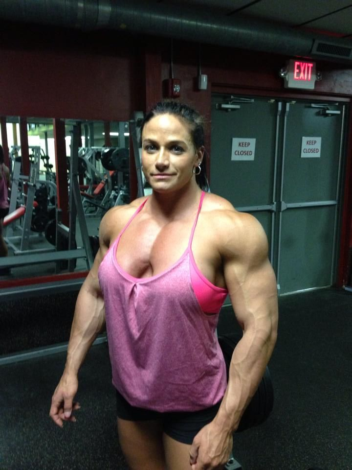 Female bodybuilder big tits hot