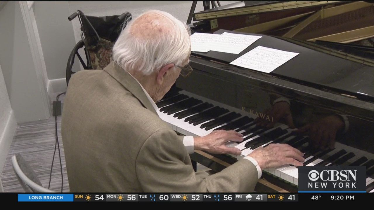 'I Like To Be Busy' 99YearOld Piano Player Still