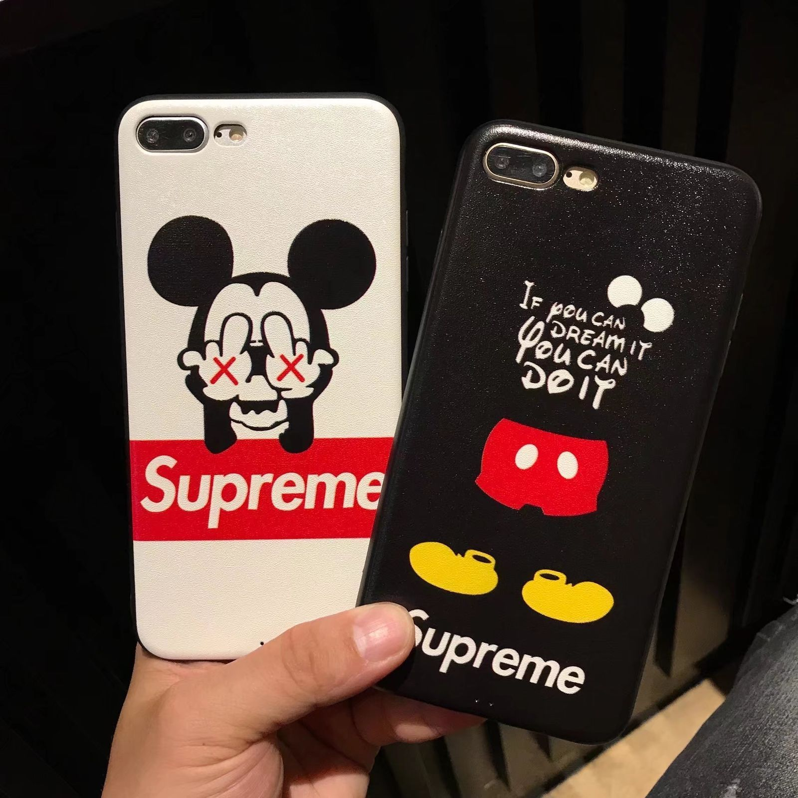 9390cd9d146 $13.99 AUD - Supreme Mickey Mouse Kaws Soft Case Cover For Iphone X 6 6S 7 7  Plus 8 8 Plus #ebay #Electronics