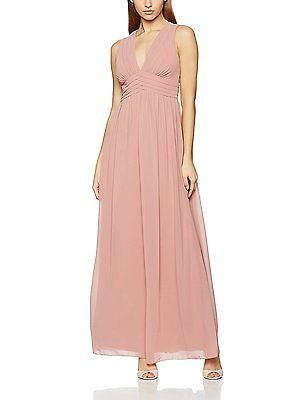 12, Pink (Apricot), Little Mistress Women's Dress NEW