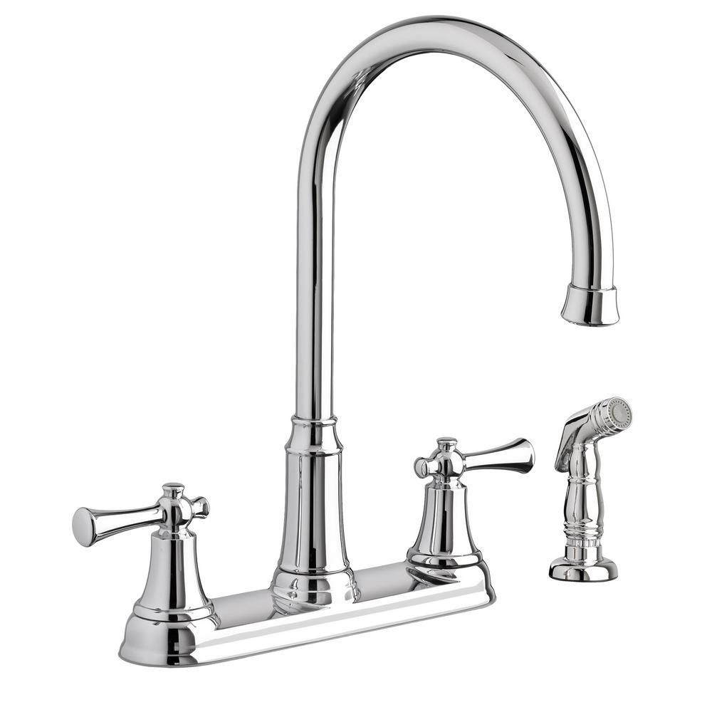 American Standard Portsmouth 2 Handle Standard Kitchen Faucet With
