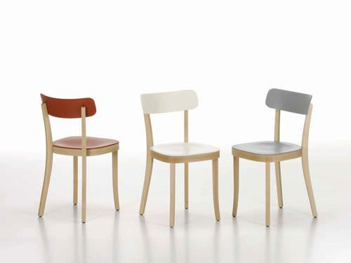 Vitra Sedie ~ Sedia design in legno di jasper morrison basel chair vitra happy