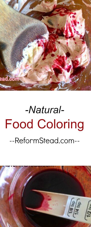 Hibiscus Natural Food Coloring | Natural food coloring