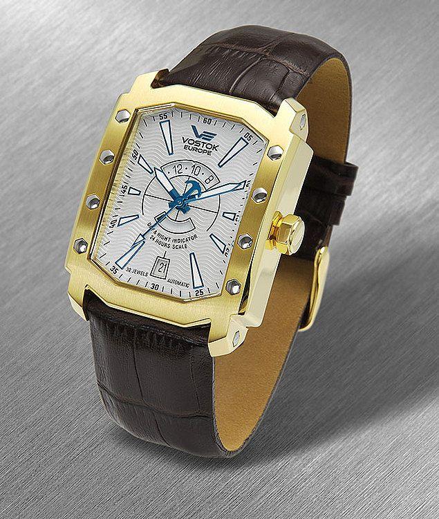 Vostok Europe ARKTIKA Icebreaker 3406094 watch   Leather ...