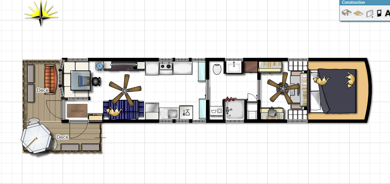 Tiny House Floor Plans Trailer new postthe latest floor plan 2d computer graphic! http