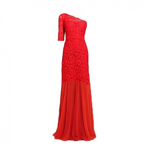 Krajkové spoločenské šaty Flame  by Dyona - SAShE.sk - Handmade Šaty