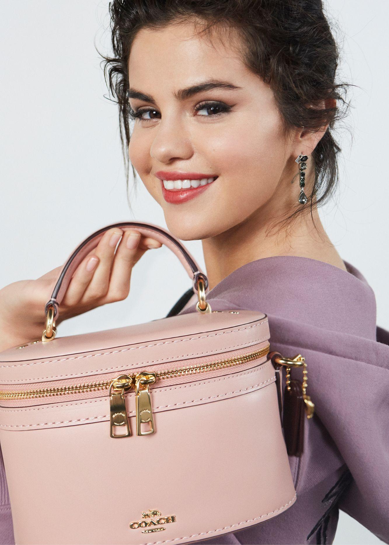 0700de0eb46a Ready. Set. Selena. Shop early access to the new  CoachxSelena ...