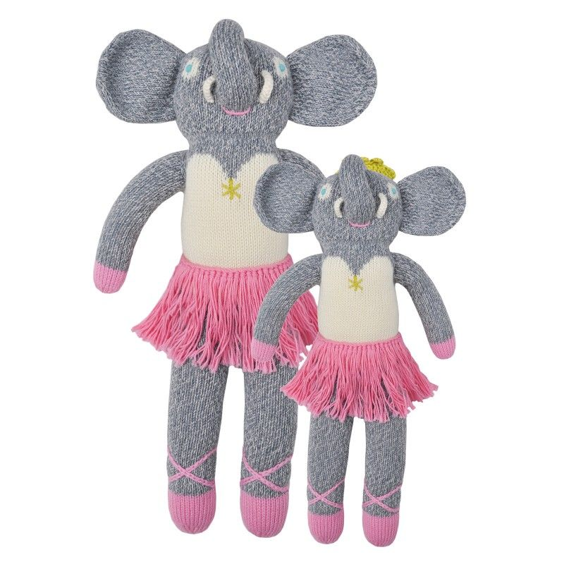 These beautifully hand-crafted dolls are the perfect gift for any little one. Their vibrant style, and exceptional quality make them irresistibly soft and cuddly.<BR><BR><b>The little details:</b> Materials: 100% cotton.