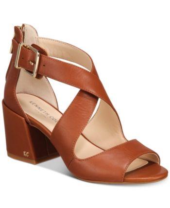5a884370af2 Kenneth Cole New York Women s Hannon Crisscross Sandals - Black 5M ...