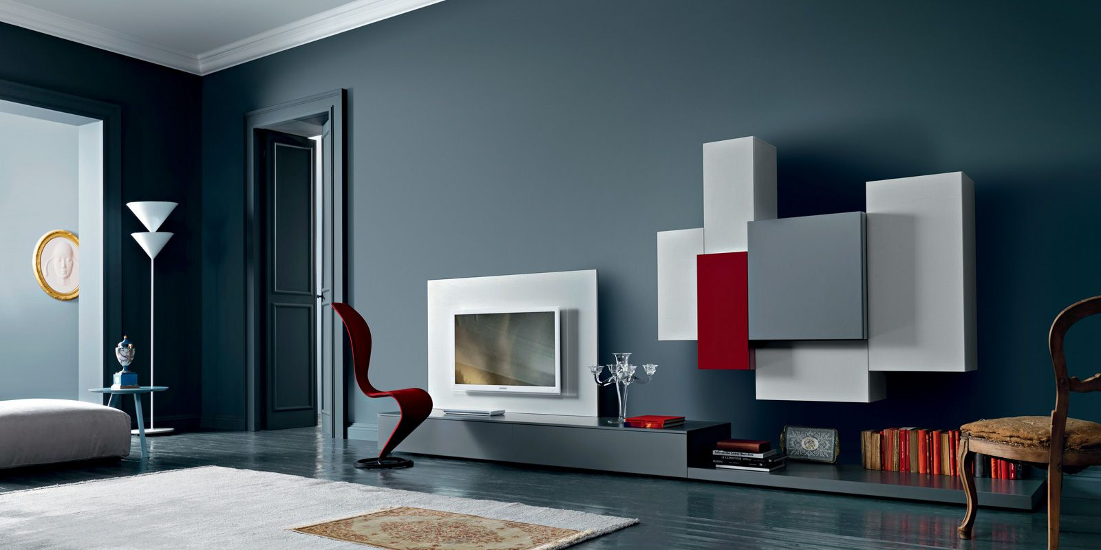 Available In Canada Through Selene Furniture. Landscaped Interior 0 By  SanGiacomo