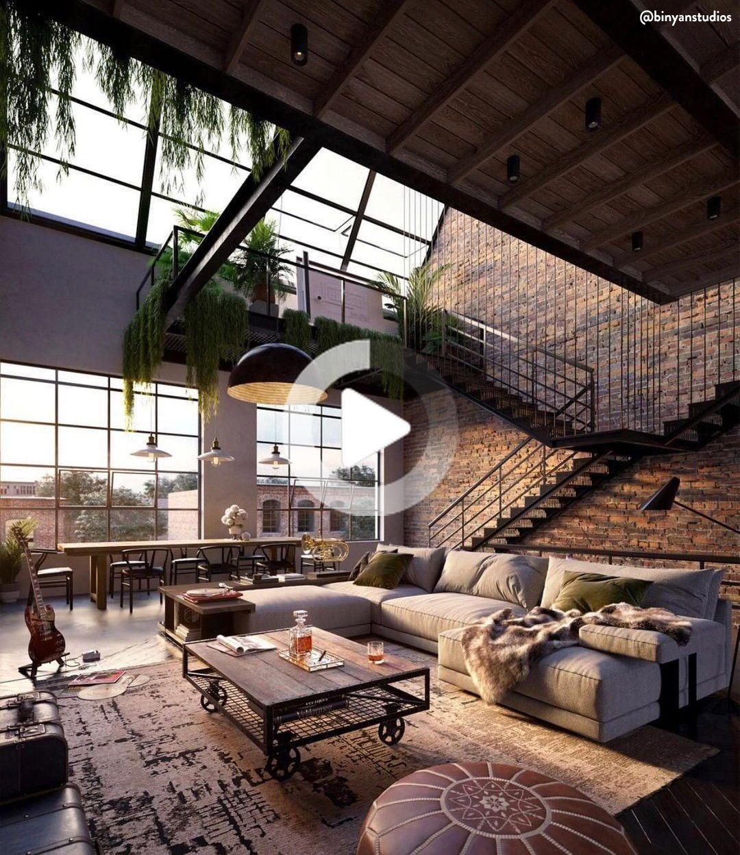 industrial style: wohnen im industriedesign in 2020 | loft