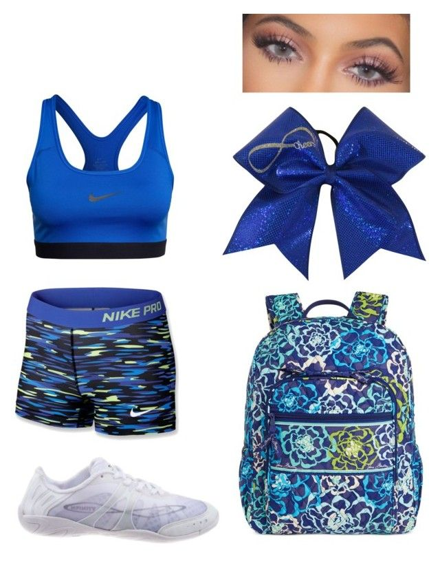 """""""Cheer!"""" by ashhol-1 on Polyvore featuring NIKE and Vera Bradley"""