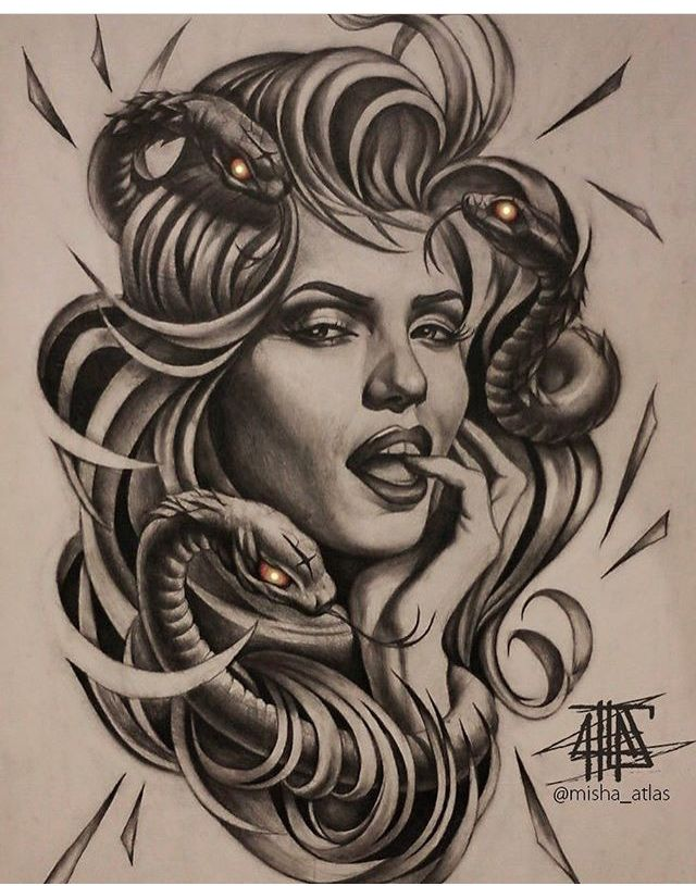 Pin By Ruby Sloan On Tattoo Designs Medusa Tattoo Body