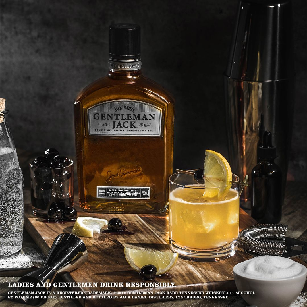7 7 Recipe Gentleman Jack Whiskey Sour Cocktail