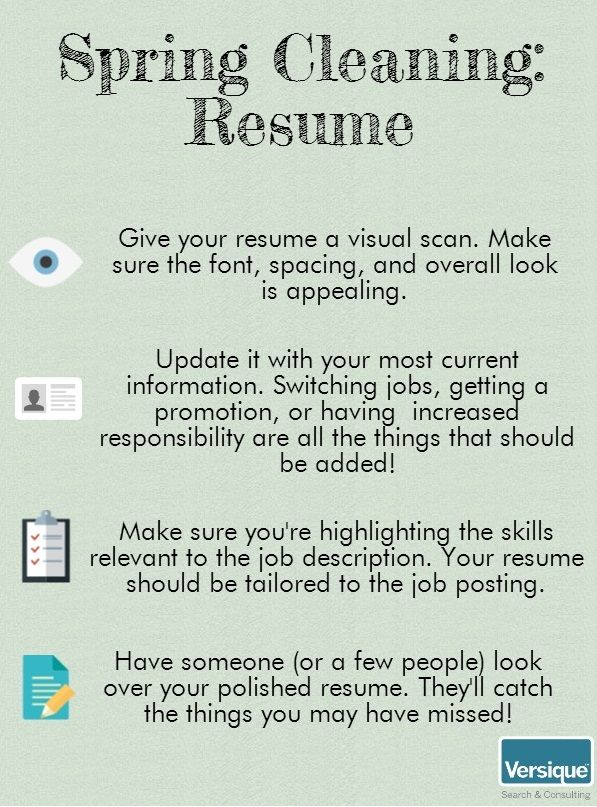 Happyspring Clean Up Your Resume With These Recruiter Tips