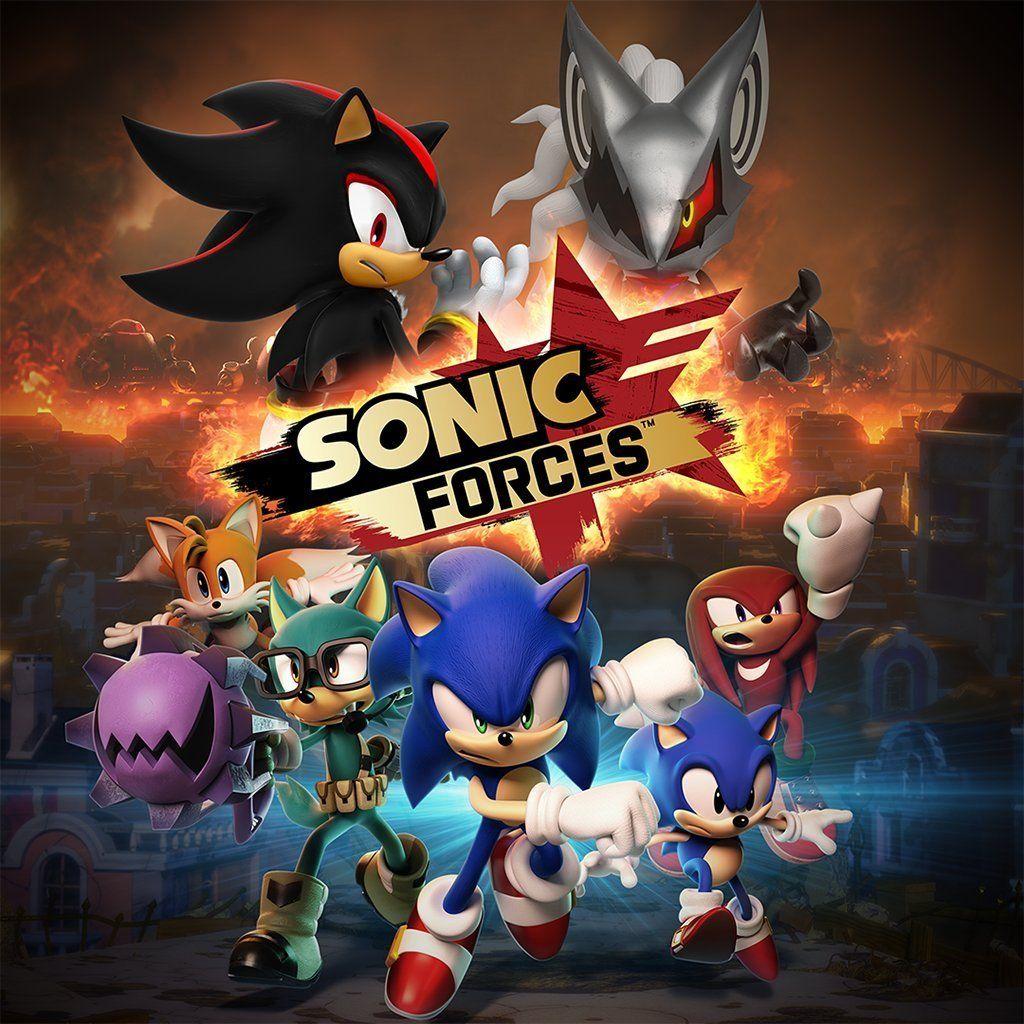 New Games Sonic Forces Pc Ps4 Xbox One Switch Xbox One Xbox Ps4